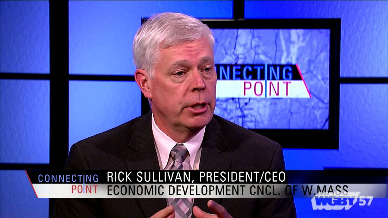 Rick Sullivan of tthe Economic Development Council of Western Mass, discusses campaign to attract new businesses, residents and visitors to the region.