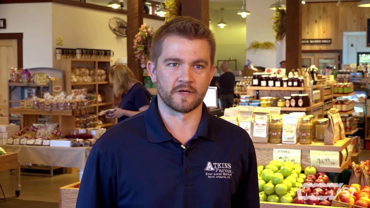 Atkins Farms started as a small apple orchard over 100 years ago, but has grown in to a full-service, one-stop shopping destination in South Amherst, MA.