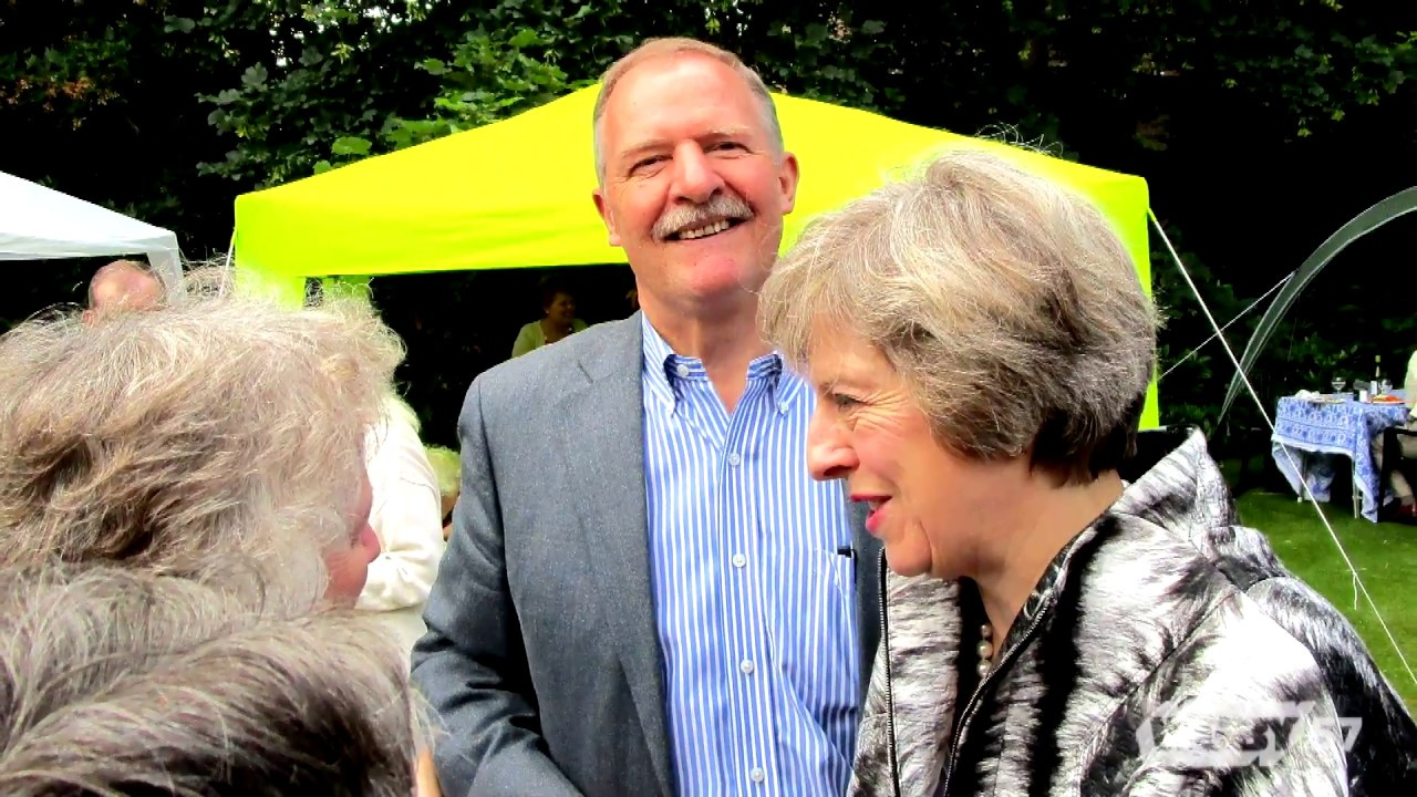 American International College Professor John Rogers discusses his visit to Great Britain, including an unexpected meeting with Prime Minister Theresa May.