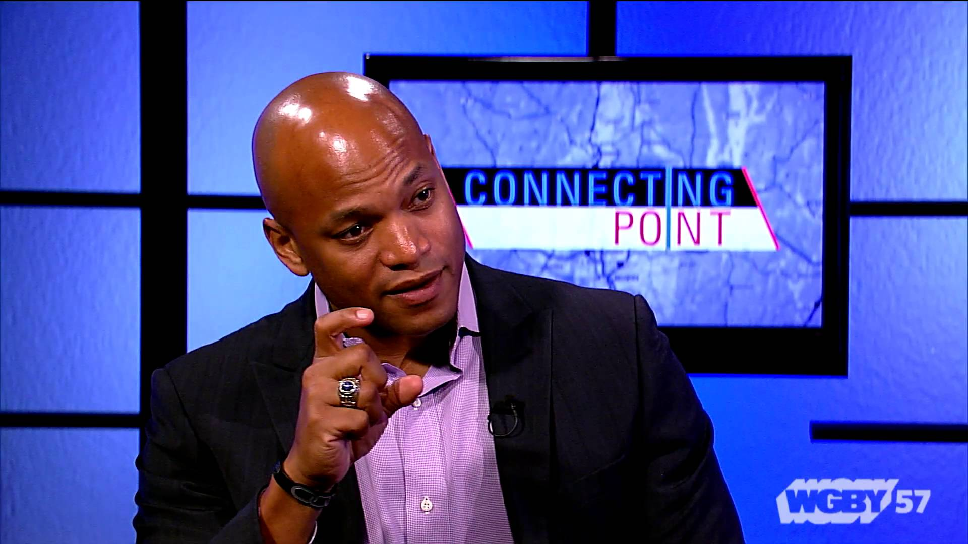 Wes Moore talks with Jim Madigan on CONNECTING POINT