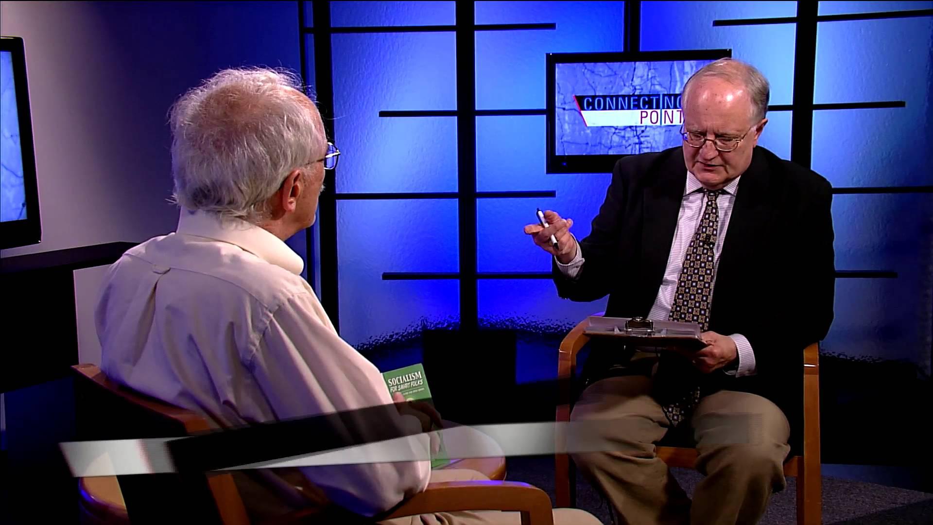 "Michael Engel, Westfield State University Professor-Emeritus of Political Science, discusses his recent book, ""Socialism for Smart Folks""."