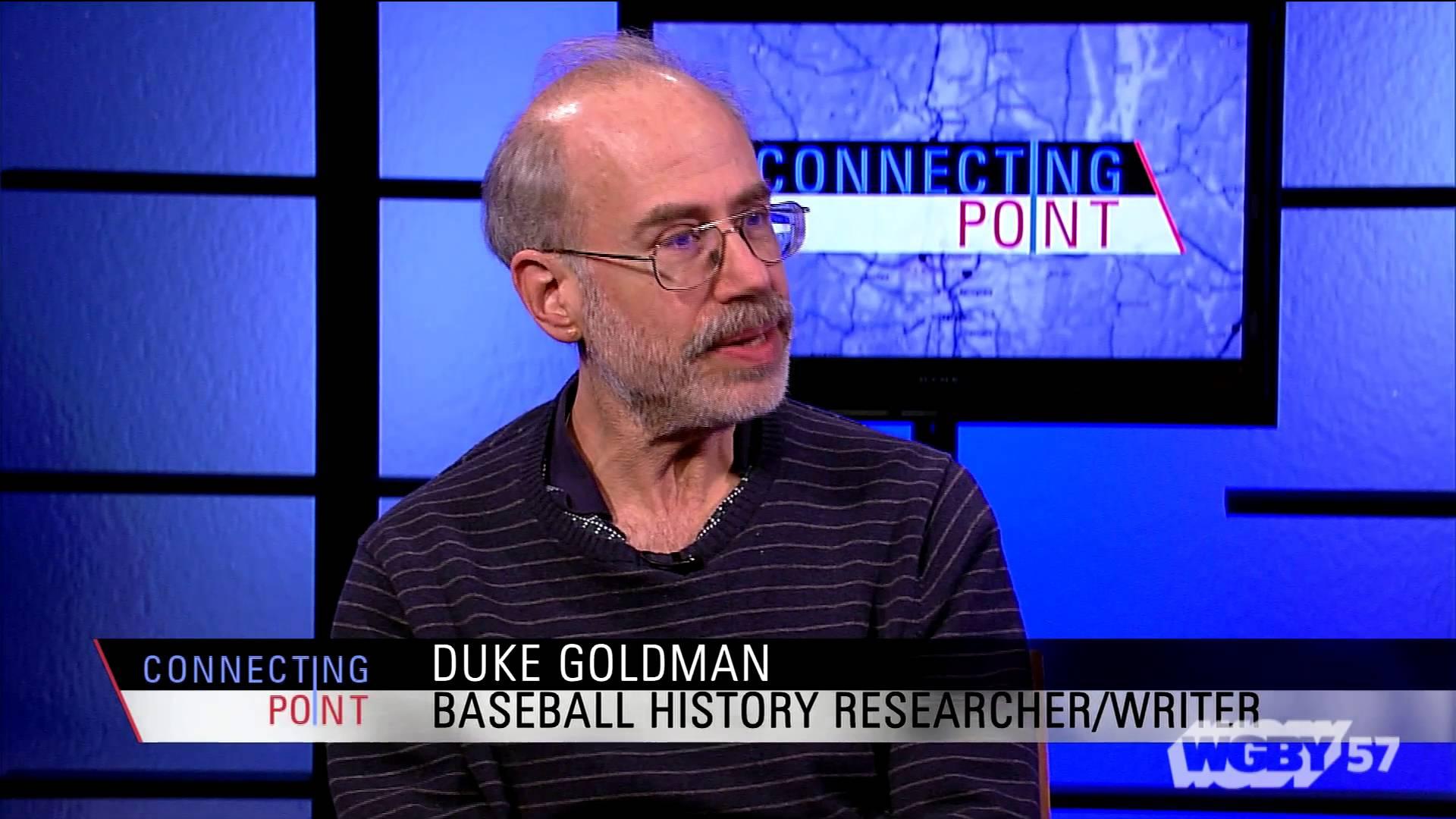 Duke Goldman on Monte Irvin