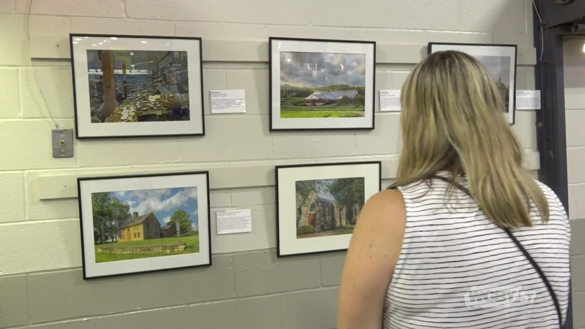 43 Towns, a photo exhibit at the Big E, features a single photo depicting life in each of the 43 towns that make up Hampden and Hampshire Counties.
